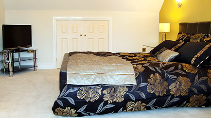 A very comfortable Kingsize double bed